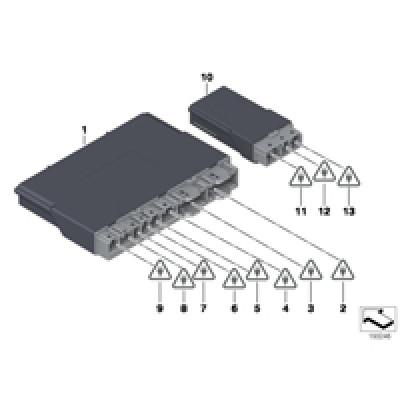 Блок управления, модуль сиденья Пд/Зд