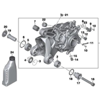 Исполнительный элемент HSR/доп.элементы
