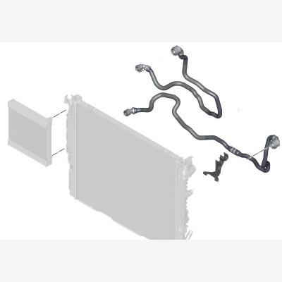 Шланг вынесенный радиатор ОЖ
