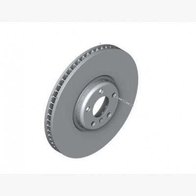 Тормозной диск торм.механ. перед.колеса